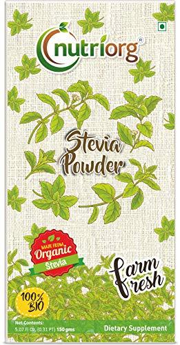 Nutriorg Certified Organic Stevia Leaf Powder - 150g