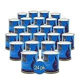 1 Day Yahrzeit Candle - 24 Pack - 24 Hour Kosher Yahrtzeit Memorial and Yom Kippur Candle in Tin Cup Holder