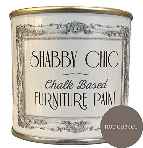 Peinture pour meubles à base de craie pour style rétro chic - 125ml, marron, 13034125