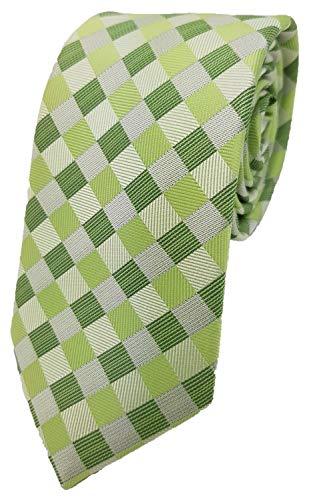 Silk Ties Krawatte Mix Seide 7 cm, Krawatte Seide Mix 7 cm Kiste 13:Hellgrün