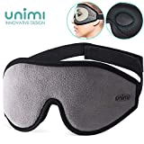 Eye Mask for Sleeping, Unimi 3D Contoured Sleep Mask for Women Men, Super Soft and Comfortable,100%...