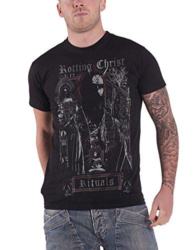 Rotting Christ T Shirt Ritual Band Logo Nue offiziell Herren