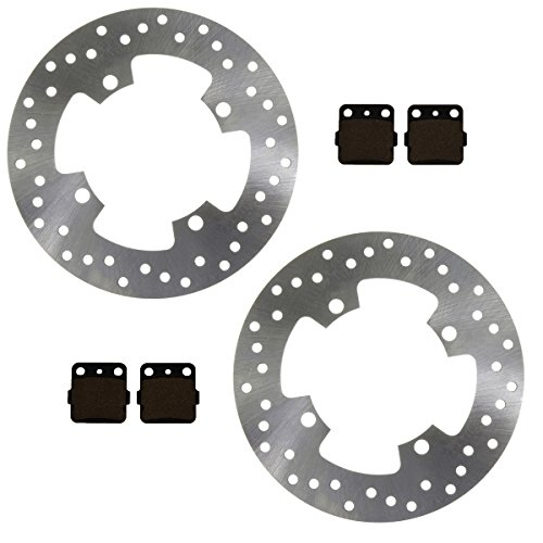 Race Driven OEM Replacement Rear Severe Duty Brake Pads for Yamaha Grizzly YFM 660 YFM660