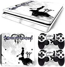 ZoomHit Ps4 Slim Playstation 4 Slim Console Skin Decal Sticker Kingdom Hearts + 2 Controller Skins Set (Slim Only)