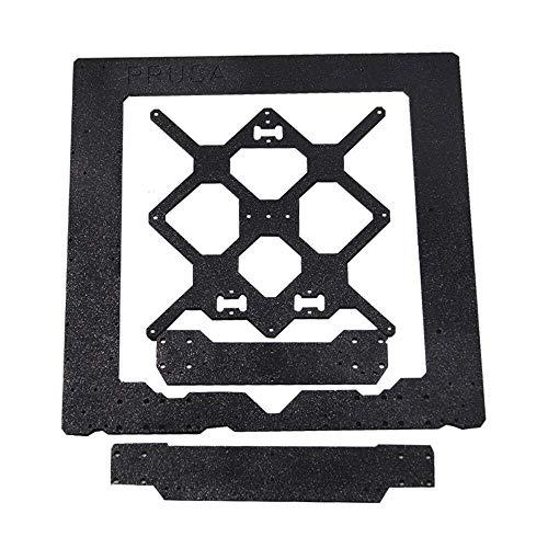 SIMNO JIAHONG Accesorios For clonado Prusa I3 MK3 aleación de Aluminio del Marco + Y + Carro Frontal con Posterior Determinado de la Placa de componentes de la Impresora 3D Prusa I3 Impresora 3D