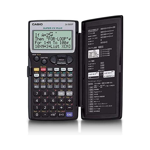 Casio-FX-5800-P-Calculatrice-Programmable