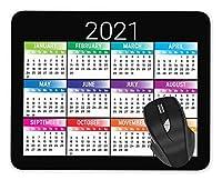2021 Calendar Mouse pad Gaming Mouse pad Mousepad Nonslip Rubber Backing [並行輸入品]