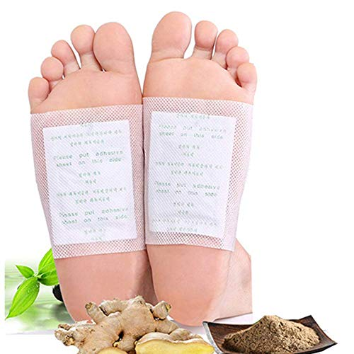 Foot Pads,(100 pcs),Cleansing Foot Pads for Foot Care, Sleep Better,Foot Care Product,Ginger Bamboo Foot Pacthes