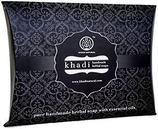 Khadi - Handmade Soap Selection Pack (Set Of 4 Soaps) - 300 ml by Khadi Natural