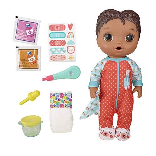 Boneca Baby Alive Aprendendo a Cuidar Negra - E6941 - Hasbro