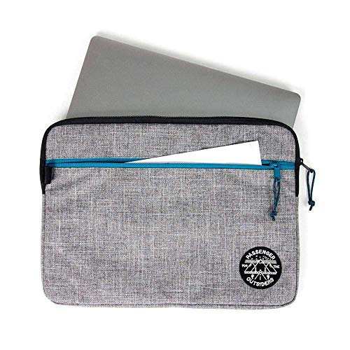 Passenger Router Laptop case grey marle - one size - grey