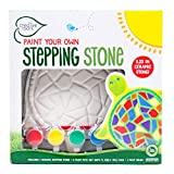 Creative Roots 92849 Paint Your Own Turtle Stepping Stone by Horizon Group Usa, 6 Paint Pots and Brush included, Assorted