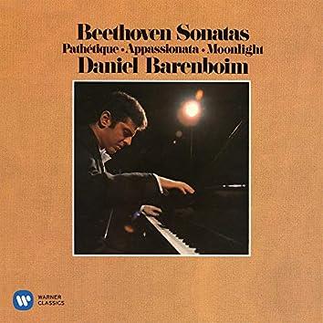 """Beethoven: Piano Sonatas Nos. 8 """"Pathétique"""", 14 """"Moonlight"""" & 23 """"Appassionata"""""""