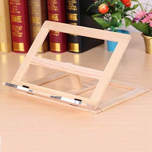 Stand di lettura Libro Di Lettura Stand Staffa di lettura telaio in legno - Libro Reading Bracket Tablet PC Supporto Music Stand
