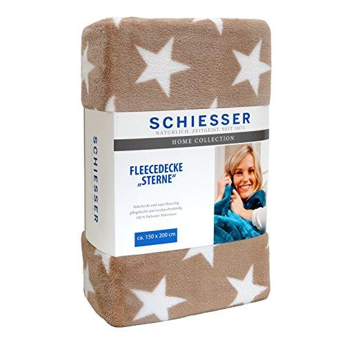 Schiesser Fleecedecke in Polyester-Mikrofaser, 150x200 cm