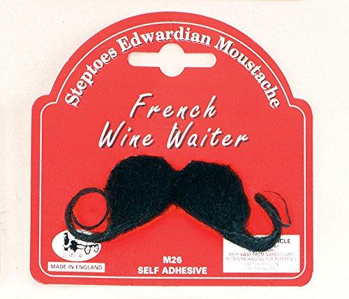 French Wine Waiter Moustache