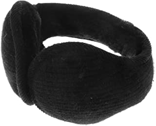 FITYLE Classic Fleece Ear Muffs Collapsible Behind-The-Head Ear Warmers for Women Men
