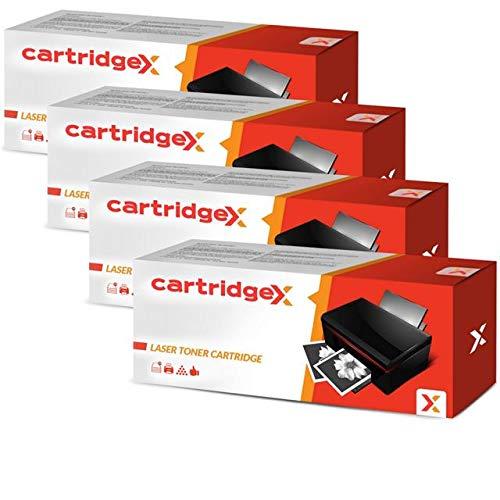 Cartridgex - Cartucho de tóner láser para HP 06A C3906A Laserjet 6L 5L Xtra 5L (4 Unidades)