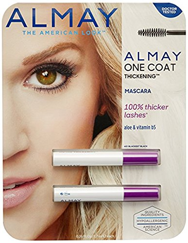 Almay One Coat Thickening Mascara--2 Pack