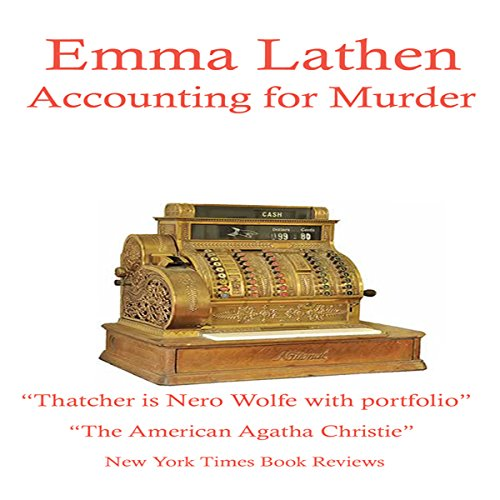 Accounting for Murder audiobook cover art