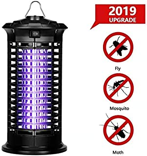 LKAN Electronic Bug Zapper, 2019 New Upgraded UV Insect Killer,No Radiation, Non-Toxic, Standing or Hanging Design Perfect for Home,Office,Indoor Places Use