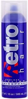 Retro Hair Fast-Dry Aerosal Styling Hairspray, 10 Fluid Ounce
