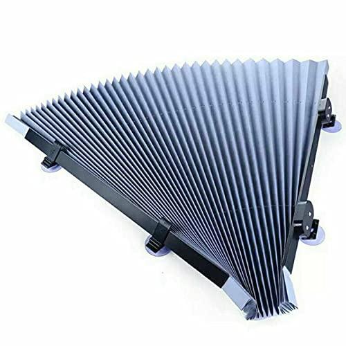 ZYANUGR Parasol retráctil para Parabrisas de 46/65/70/80 cm para automóvil, Protector de Visera Parasol bloquea 99% de Rayos UV, fácil de Usar (65cm)