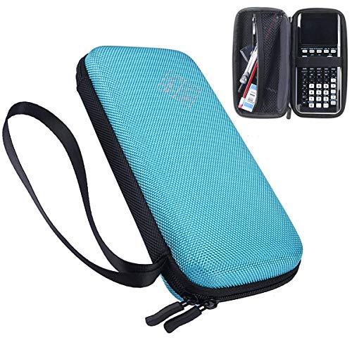 XBERSTAR Hard EVA Shockproof Carry Case Bag Pouch for Texas Instruments TI-84 Plus CE/Color TI-83 Plus,TI-89 Titanium, HP 50G Graphing, Scientific Financial Calculators (Blue) �
