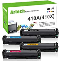 4-Pack Aztech Compatible Toner Cartridge