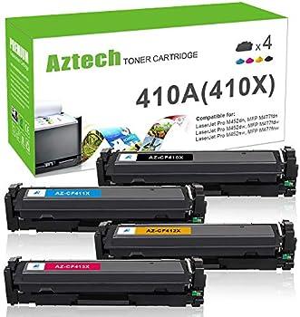 4-Pack Aztech Compatible Toner Cartridge