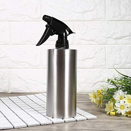 QIRG Latas de Agua de la Flor, Botella de riego del hogar del Acero Inoxidable del rociador del jardín para(550ml, Blue)