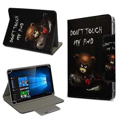 Vodafone Tab Prime 6 / 7 Hochwertige Tablet-Schutz-Hülle-Tasche Universal mit Standfunktion kombiniert Schutz & Design in verschiedenen Motiven aus hochwertigem Kunstleder Cover Hülle Universal Farbauswahl