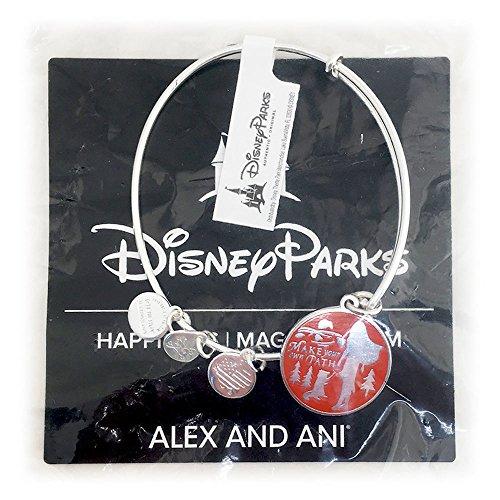 Alex and Ani Disney Parks Princess Pocahontas Bangle Bracelet (Silver)