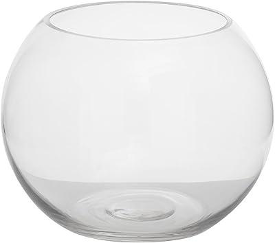 Aufora H0096A - Jarrón de cristal para peces, color transparente