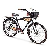 Huffy 26' Panama Jack Beach Cruiser Bike, Black