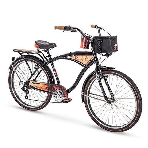 "Huffy 26"" Panama Jack Beach Cruiser Bike, Black"