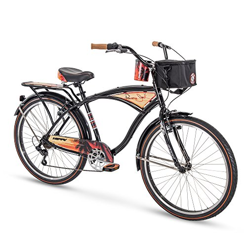 Huffy 26' Panama Jack Beach Cruiser Bike, Black