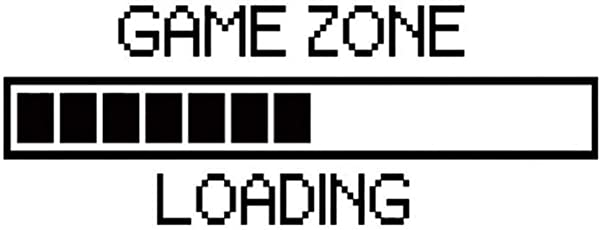 Yosooo Game Zone Loading Wall Sticker Decal Kids Room Home Background D Cor Cool Funny Wall Art
