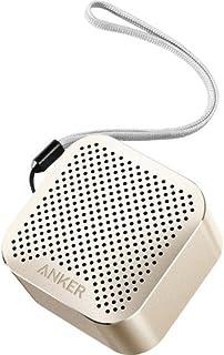 سماعة أنكر ساوند كور نانو بلوتوث 4.0 قوة 3 وات ألومنيوم لون رمادي ومايكروفون مدمج وبطارية 4 ساعات