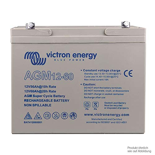 Victron AGM 12V 60Ah Deep Cycle accu