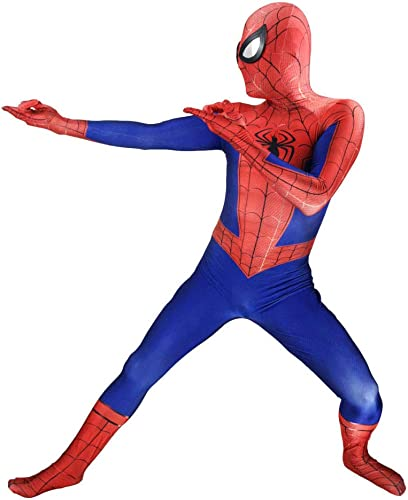 disfruta ahorrando 30-50% de descuento SEJNGF Spider-Man Siamese Tights Tights Tights Avengers Adulto Cosplay De Halloween(Copricapo Può Essere Separato),Adult-XL  primera vez respuesta