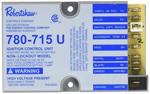 Robertshaw 780-715 Nonlockout Pilot Ignition Controller