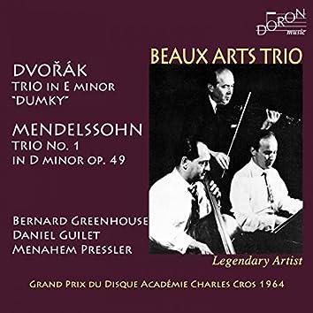 Beaux Arts Trio: Dvořák and Mendelssohn