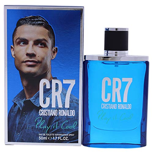 Cristiano Ronaldo Cr7 Play It Cool Edt Spray 1.7 Oz Men, 1.7 Oz