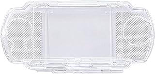 OSTENT Protetor transparente de cristal para viagem com capa rígida compatível com Sony PSP 2000 3000