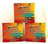 Anti-Mücken-Spiralen von favorit 40 Stück Mückenspirale Insektenspirale Mückenspiralen - Anti Mücken Spirale