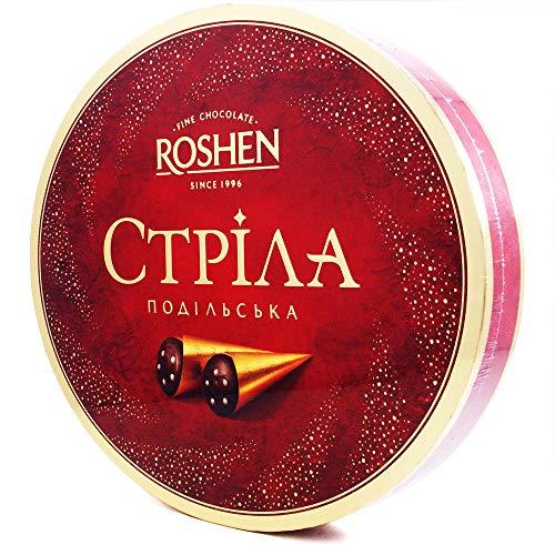Strela Candies by Roshen, Chocolate Cones with Condensed Milk Cream 200 g   7.05 oz