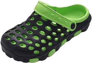 Baijiaye Summer Breathable Clogs Men Womens Lightweight Garden Nurse Mules Shoes Quick-Drying Slippers Beach Water Shoes E...
