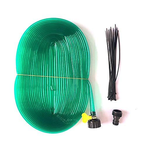 Giardinaggio Irrigazione strumento 12M Water Garden Hose micro irrigazione a goccia tubo in PVC Tubo piante di fiori di spruzzatore Tubo Tubo for innaffiare Gardening Tools 12,2 millimetri abbeveratoi
