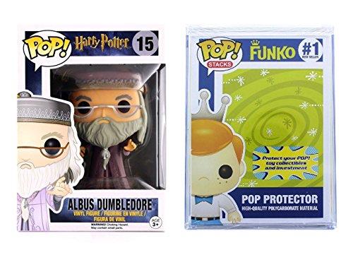 Funko POP! Harry Potter: Albus Dumbledore traje lila + caja protectora